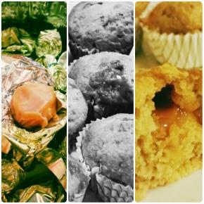 Muffins pomme – cannelle… coeur caramel(Végétarien)