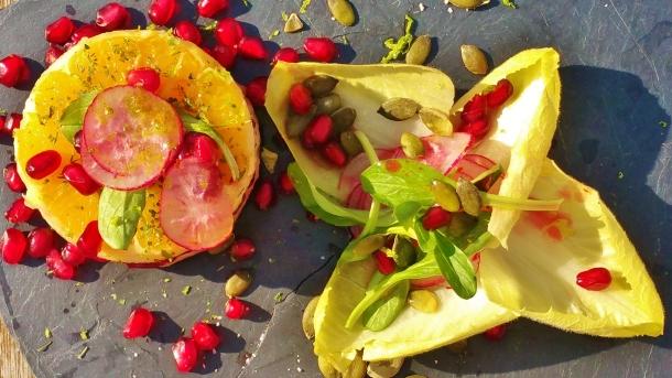 salade grenade rocamadour 3