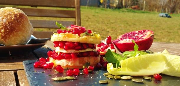 salade grenade Rocamadour