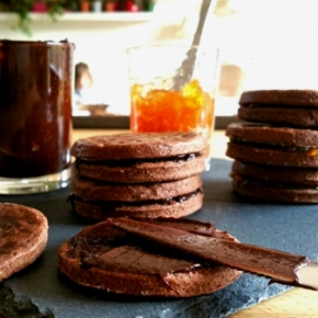 Bichoco maison, version tout chocolat ou choco-orange(végétarien)