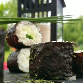 Makis végétariens, cœur tzatziki, avec tutoriel de montage(végétarien)