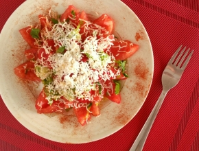 Salade Shopska (végétarien)