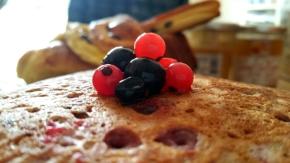 Pancakes pour princesse aux fruits rouges (avec options vegan et sansgluten)