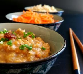 Dal de lentilles corail express au curry noir(vegan)