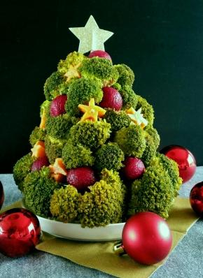 Noël gourmand & vegan : Sapin de légumes à croquer… et ses p'titessauces