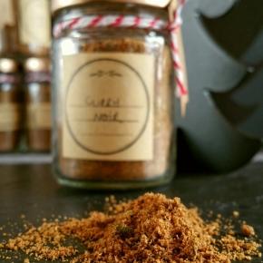 Noël gourmand & vegan : Curry noir (Idée cadeauDIY)