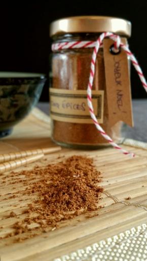 Noël gourmand & vegan : 5 épices (Idée cadeauDIY)