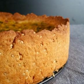 Recette de base : Pâte à tarte saléevegan