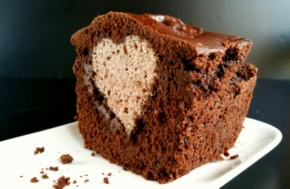 Cake surprise Choco-noisette vegan (Défi 0.0 chut#8)