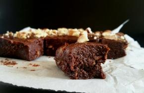 Brownie cru/Billes d'énergie au chocolat (vegan) (Foodista#18)