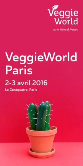 J'y étais : Salon Veggie World Paris des 2 et 3 avril 2016, & test du Gentle Gourmet, un WE végétal et gourmand!