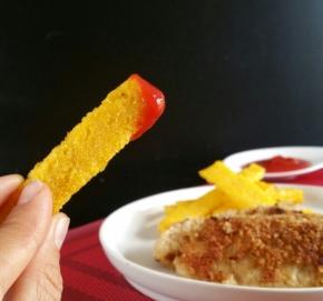 Nuggets vegan et frites depolenta
